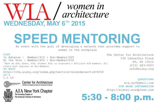 WIA flyer_SPEED MENTORING